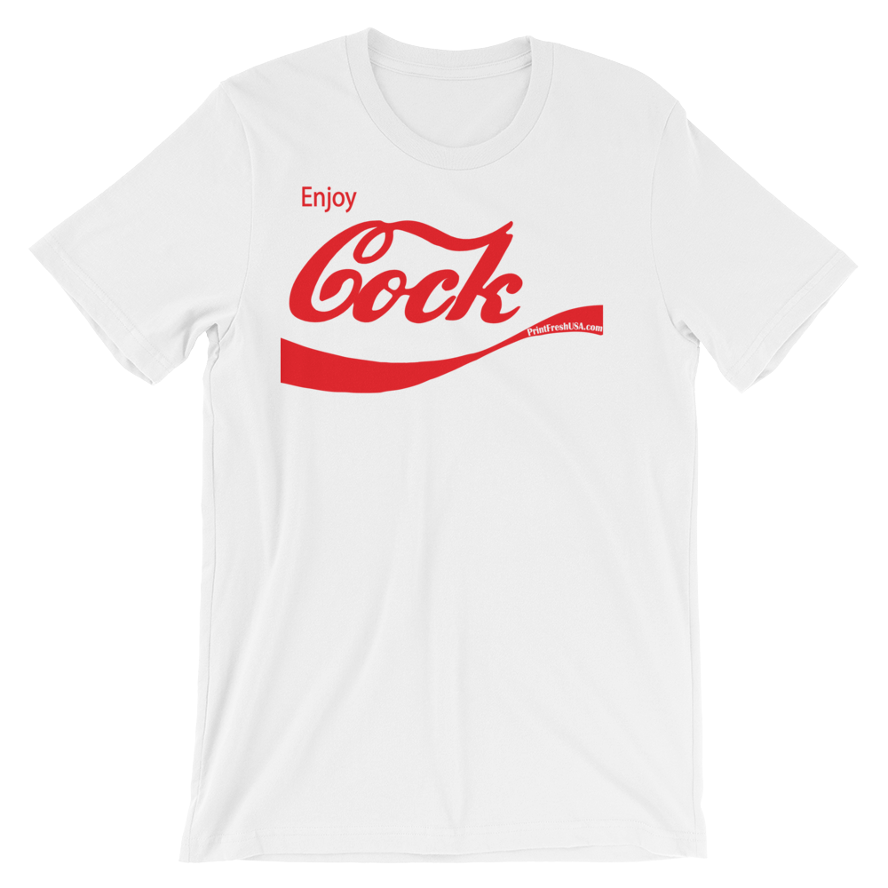 """Enjoy Cock"" Unisex Short Sleeve Tee"