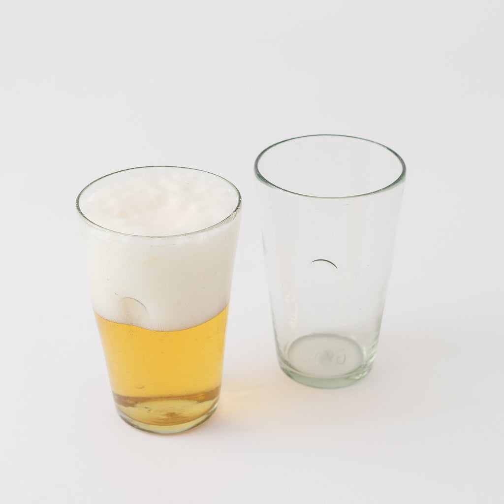 20 oz Hand Blown Beer Glass