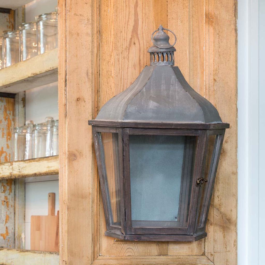 French-Style Wall Lantern