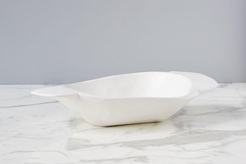 Mod White Dough Bowl, Small