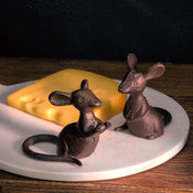 Cast Iron Mice, Set of 2