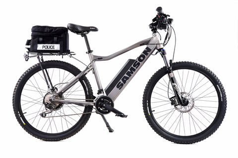 Electric Bicycles for Public Safety