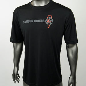 Samson Logo Moisture Wicking Performance Tee