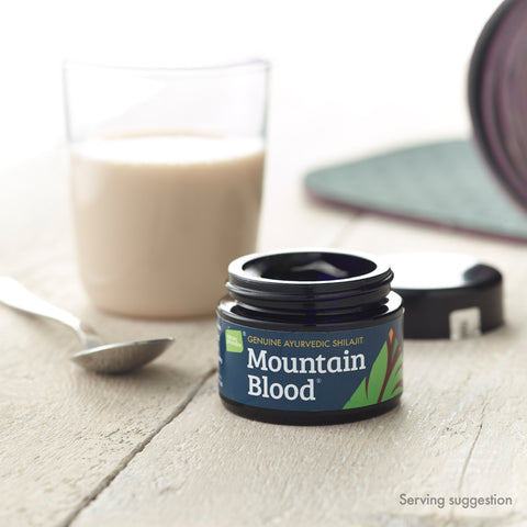 Mountain Blood | boost your yoga practice