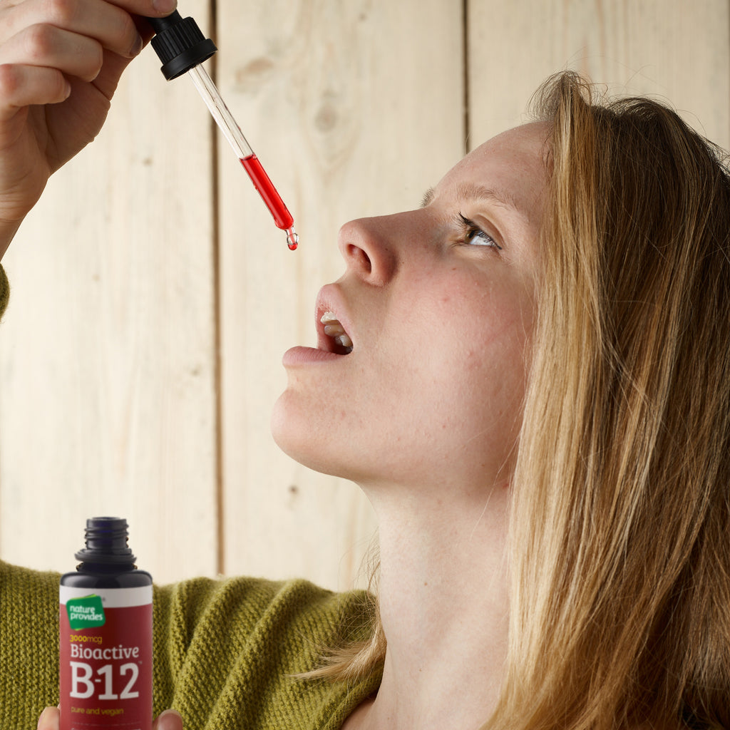 Bioactive Liquid Vitamin B12 (2400mcg) - 50ml-Nature Provides