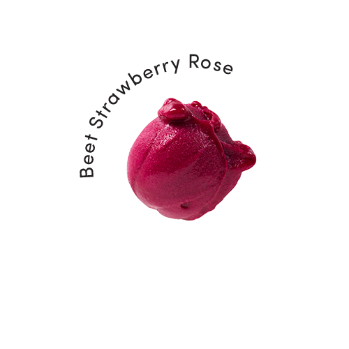Beet Strawberry Rose