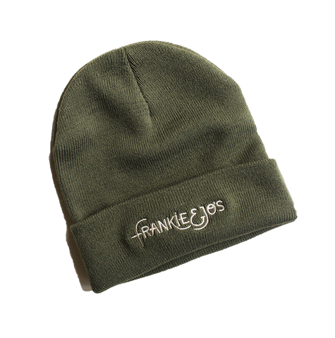 F&J Embroidered Beanie