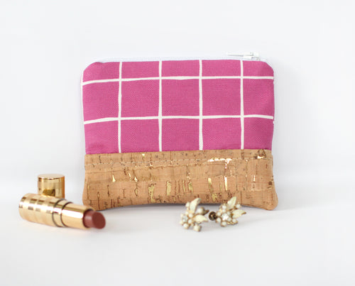 Boysenberry Zippered Coin Purse
