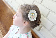 Sensible Owl Wool Felt Embroidered Hair Clip