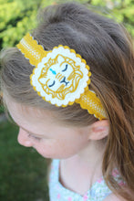 Royal Lion Wool Felt Girl's Headband