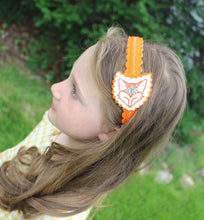 Slumbering Fox Wool Felt Girl's Headband