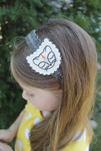 Black Cat Wool Felt Girl's Headband
