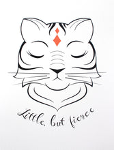 "Royal Tiger Fine Art Print ""Little, but Fierce"""