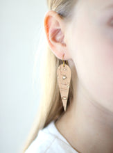 Drop Cork Earrings