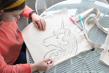 Unicorn Coloring Kit Tote