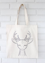 Deer Coloring Kit Tote