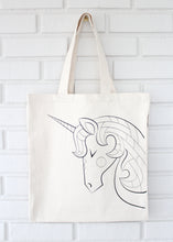 Unicorn Organic Coloring Kit Tote