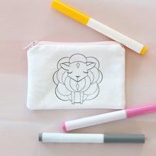 Lamb Coloring Kit Coin Purse