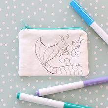 Mermaid Coloring Kit Coin Purse