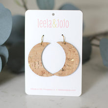 Moon Cork Earrings