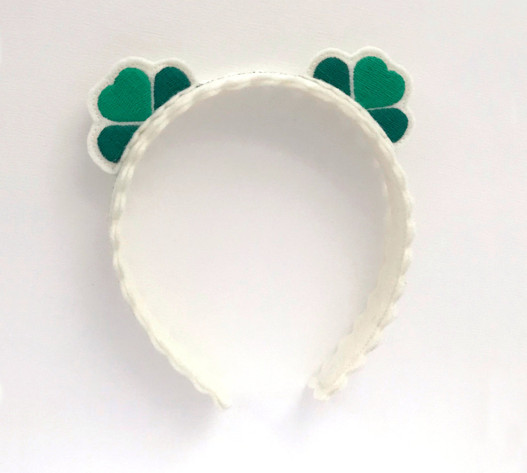 Shamrock Headband for St. Patrick's Day