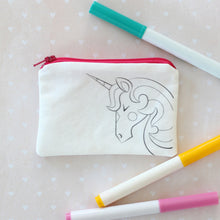 Unicorn Coloring Kit Coin Purse