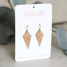 Diamond Cork Earrings