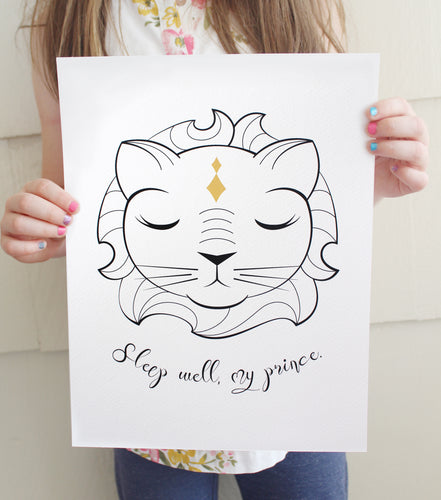 Royal Lion Fine Art Print