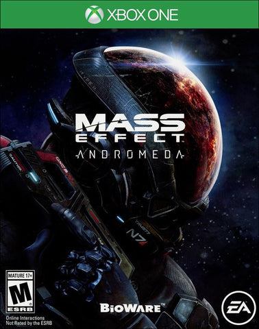 Mass Effect Andromeda (Xbox One) Cover