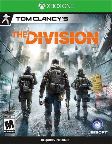 The Division Cover Art (Xbox One)