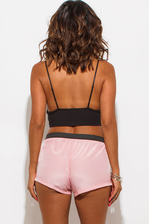 Sun And Sand Sporty Shorts - Light Pink