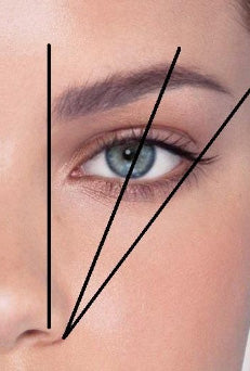 Eyebrow shaping guide, eyebrow shaping guidelines, brow shaping guidelines, beautiful brows, perfect eyebrows, eyebrow mistakes to avoid, eyebrow mistakes that age you