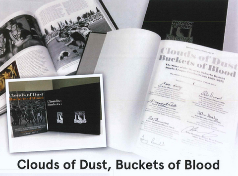 LIMITED EDITION - Clouds of Dust, Buckets of Blood