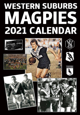Wests Magpies 2021 Calendar