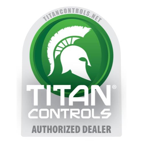 Titan Controls Double Sided Window Cling