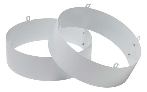 Quest Supply Air Duct Collar for Overhead Style Dehumidifier - 105, 155, 205, & 215 Only