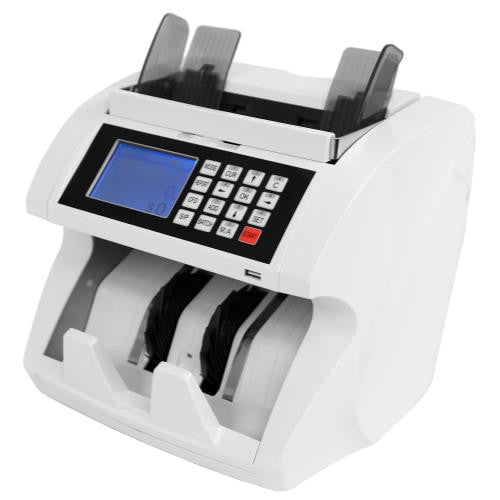 High Roller Mixed Denomination Currency Counter & Counterfeit Detector (2/Cs)