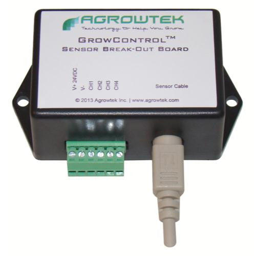 Agrowtek Sensor Cable Break-Out Board - Sensor Cable to Terminal Block