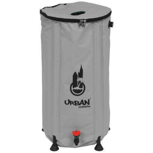 Urban Oasis Collapsible Water Storage Barrel 25.9 Gallon