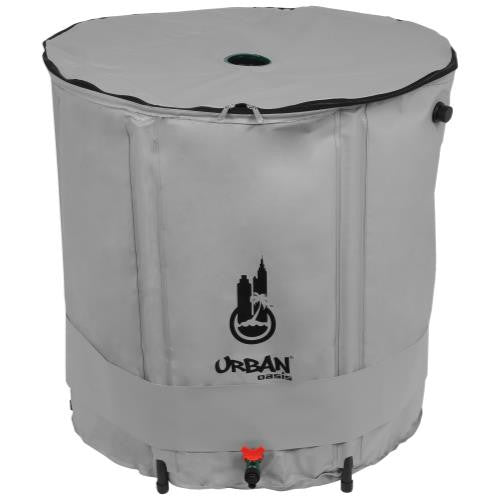 Urban Oasis Collapsible Water Storage Barrel 104 Gallon