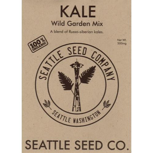 Kale - Wild Garden Mix OG (6/Cs)