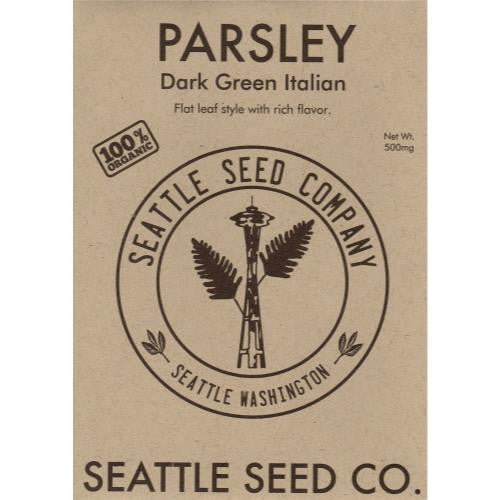 Parsley - Dark Green Italian Flat Leaf OG (6/Cs)