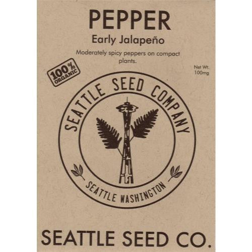 Pepper - Early Jalapeno OG (6/Cs)