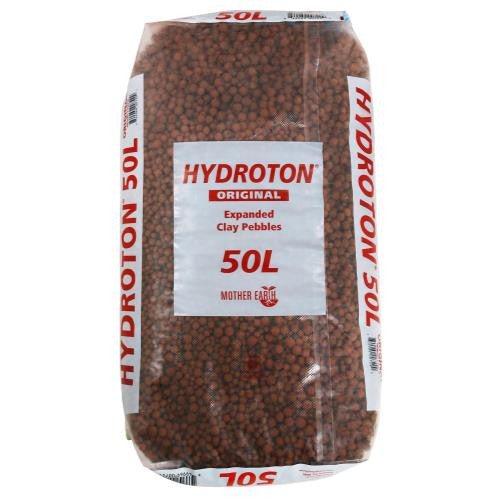 Hydroton Original Clay Pebbles - 50 Liter | Lightweight Expanded Clay Aggregate Made in Germany
