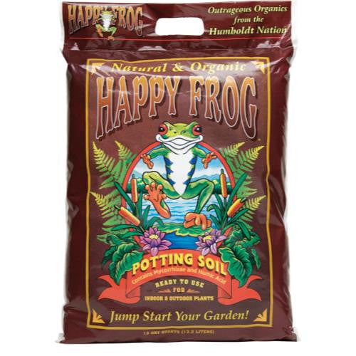 FoxFarm Happy Frog Potting Soil 12 Quart (5/Cs-120/Plt)