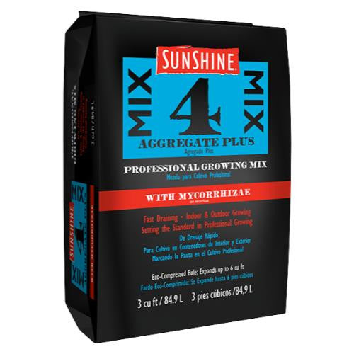 Sunshine Mix # 4 w/ Mycorrhizae 3.0 cu ft (35/Plt)