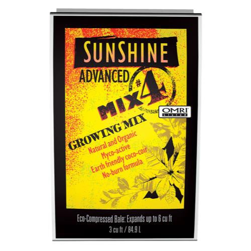 Sunshine Advanced Mix # 4 - 3 cu ft Compressed (35/Plt)