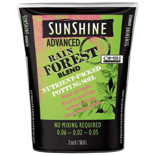 Sunshine Advanced Rain Forest Loose 2 cu ft (40/Plt)