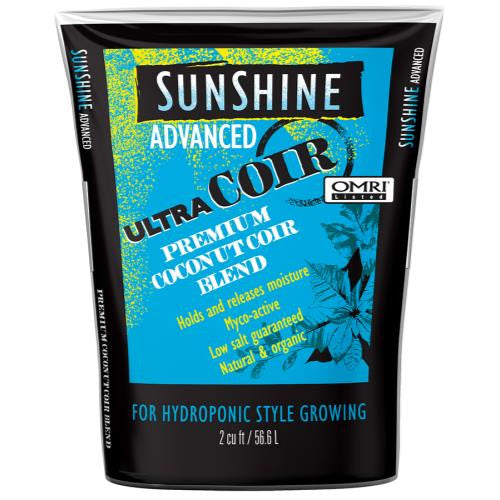 Sunshine Advanced Ultra Coir Loose 2 cu ft (40/Plt)