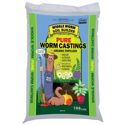 Wiggle Worm Soil Builder Earth Worm Castings 30 lb (75/Plt)